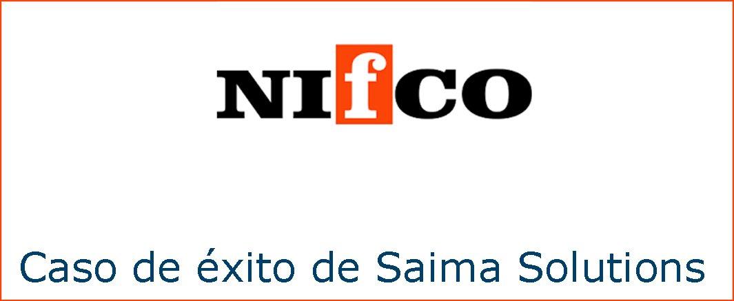 Imagen destacada para la descarga del caso de éxito entre Nifco y Saima Solutions