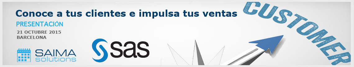 Convocatoria SAS Visual Analytics - Saima Solutions