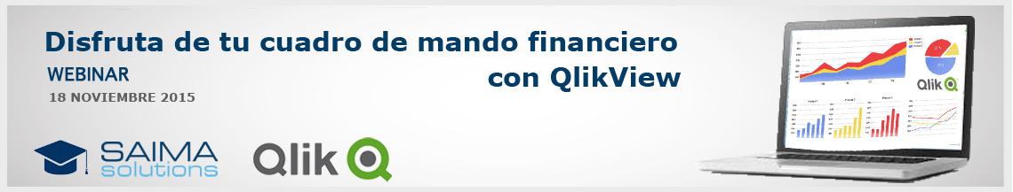 Cuadro de mando financiero con QlikView