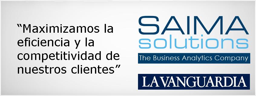 Saima Solutions Maximiza la Eficiencia y la Competitividad de sus Clientes