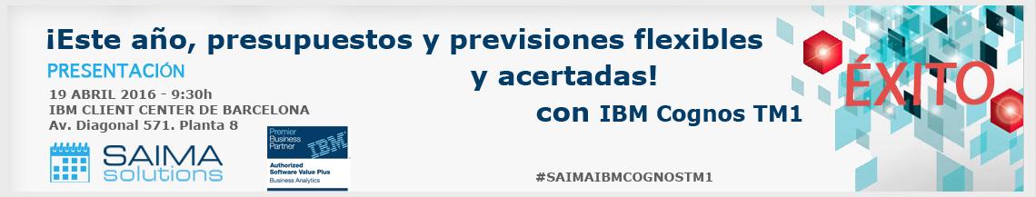 Saima Solutions y TM1