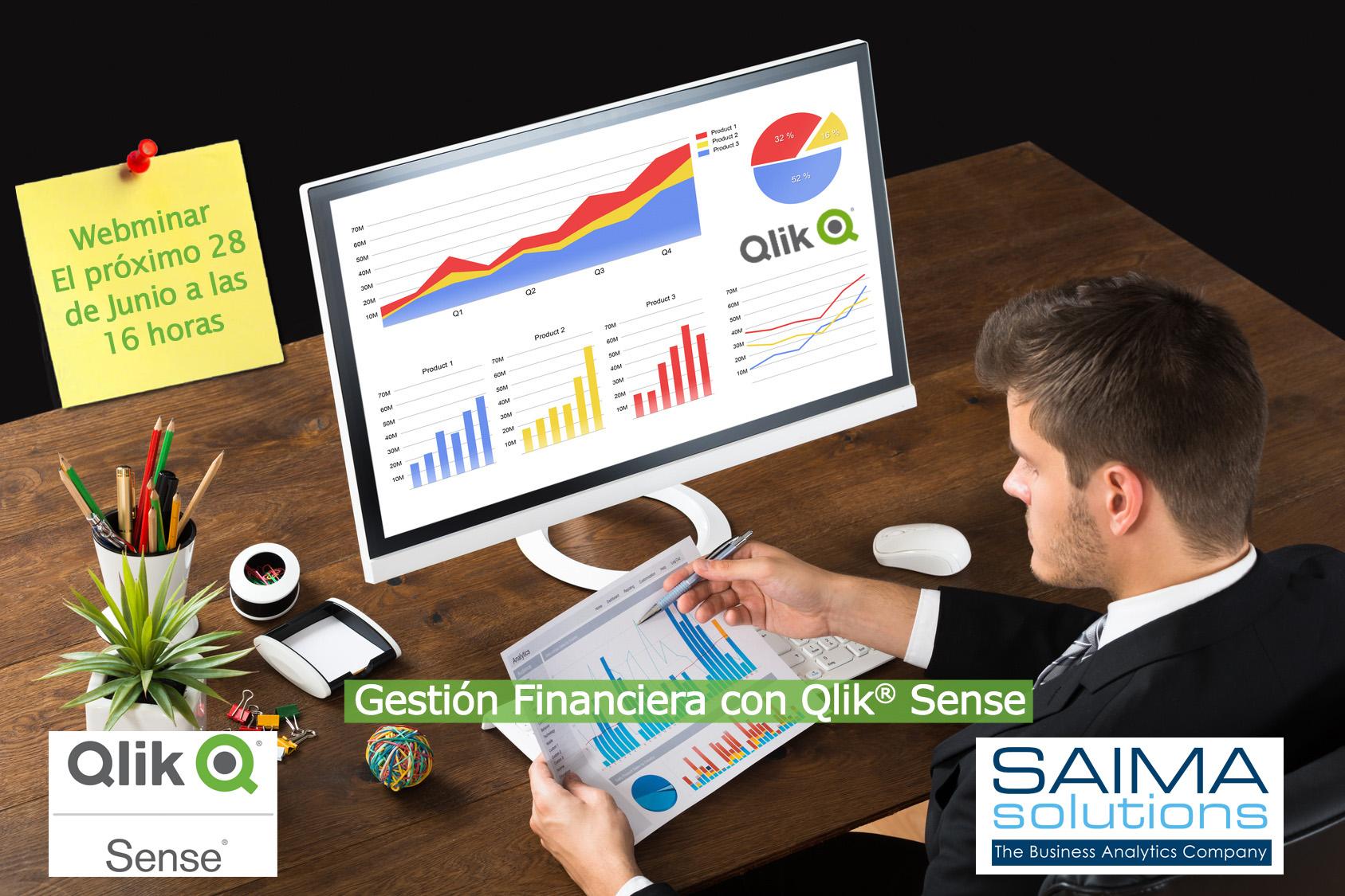 Gestión Financiera con Qlik Sense