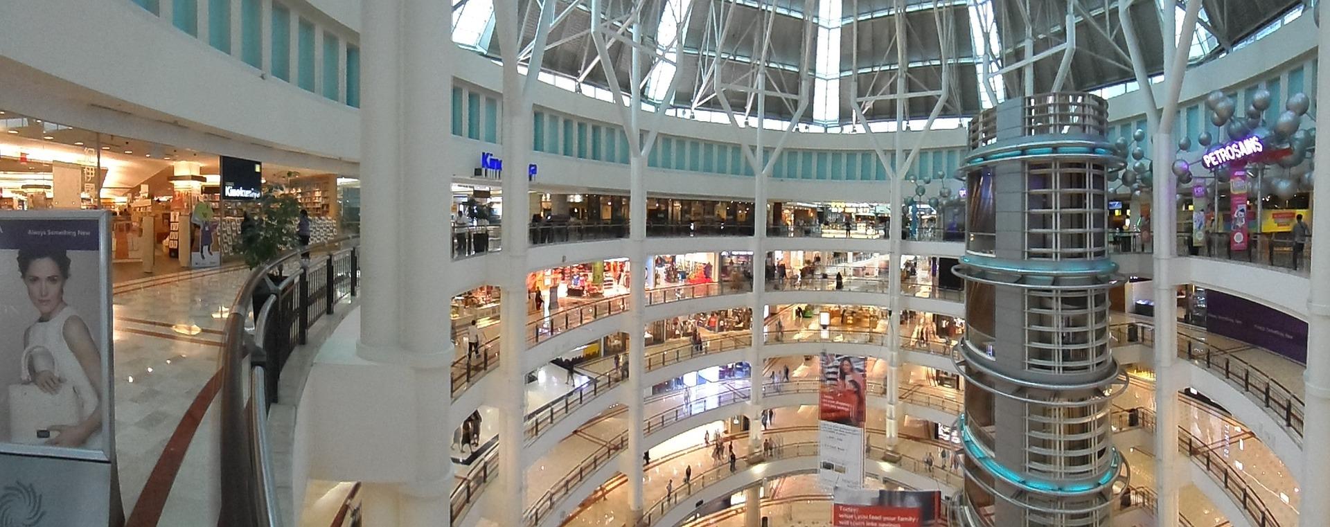 IOT, Centro Comercial, Retail, retailer