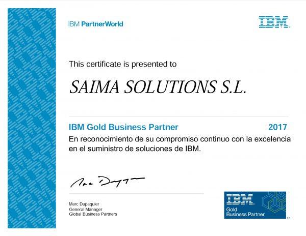 Saima Solutions_ Gold Business Partner_ES_A5