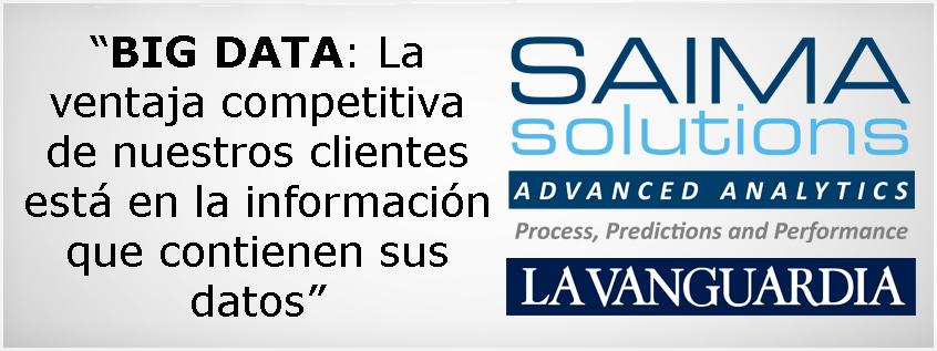 Imagen destacada, La Vanguardia, Saima Solutions